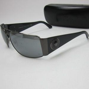 Versace 2163 13166G MEDUSA Sunglasses Italy/OLI446